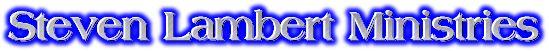 SLM,Inc...Restoring Apostolic-Prophetic Foundation Upon the Chief Cornerstone of Christ