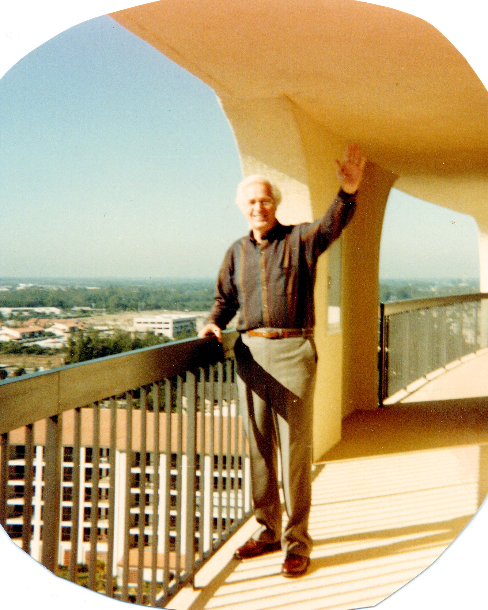 Larry Lambert at Jupiter condos (c) 1988