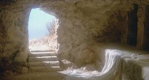 The empty tomb on Resurrection Morning